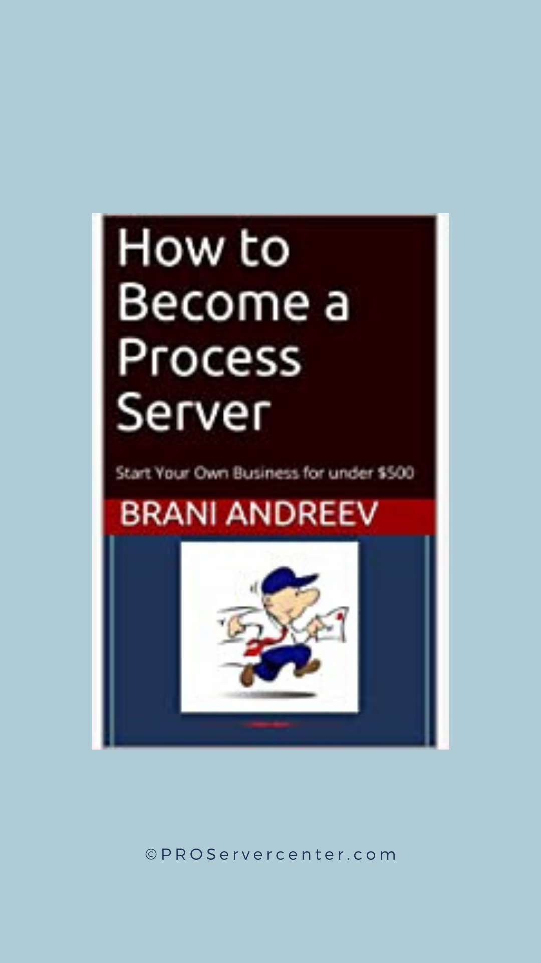 how to become a process server, amazon book